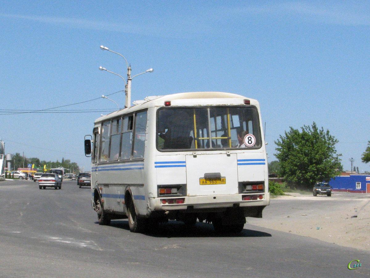 Елец. ПАЗ-32054 аа965