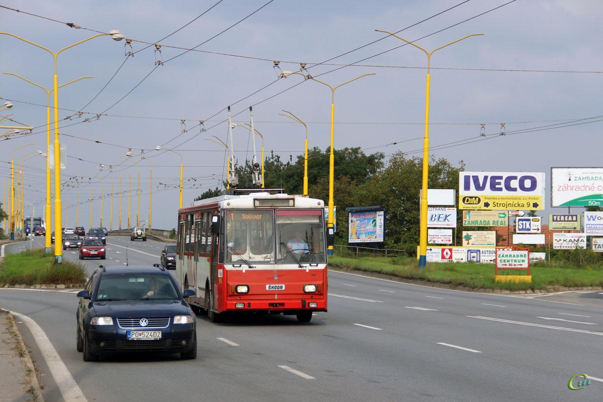 Прешов. Škoda 14Tr10/6 №91
