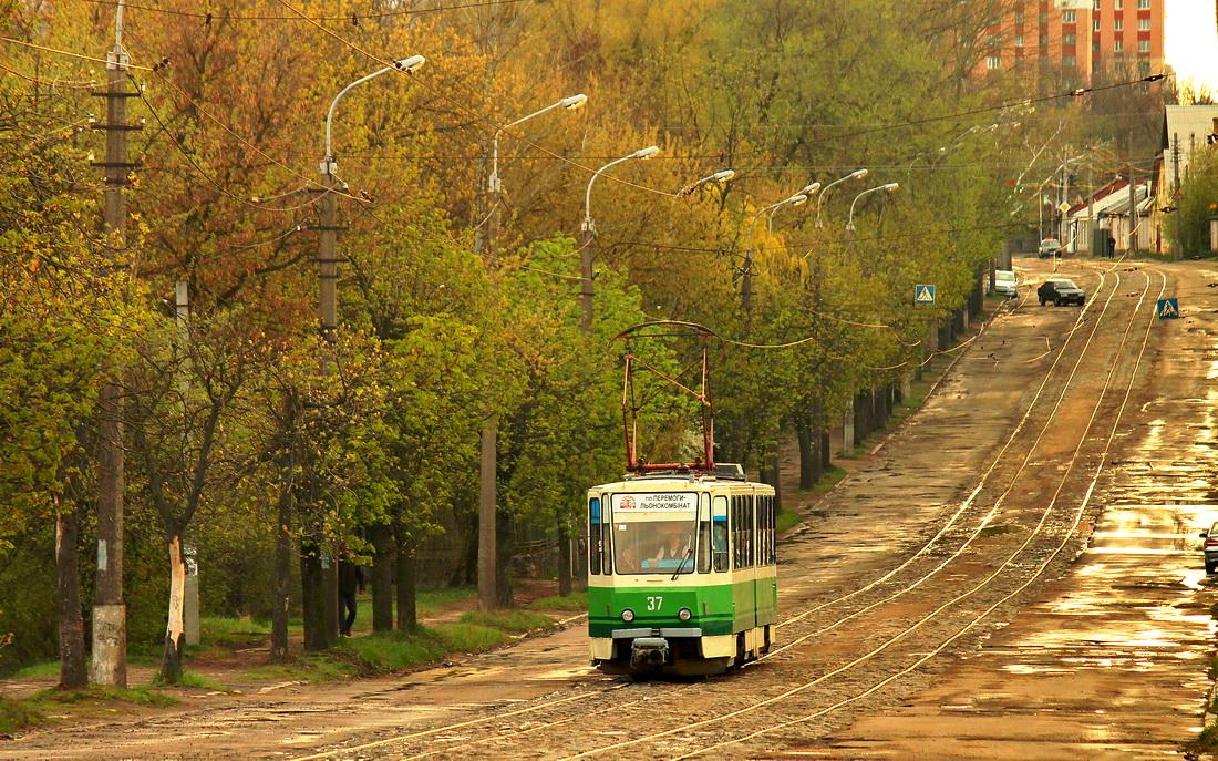 Житомир. Tatra KT4SU №37