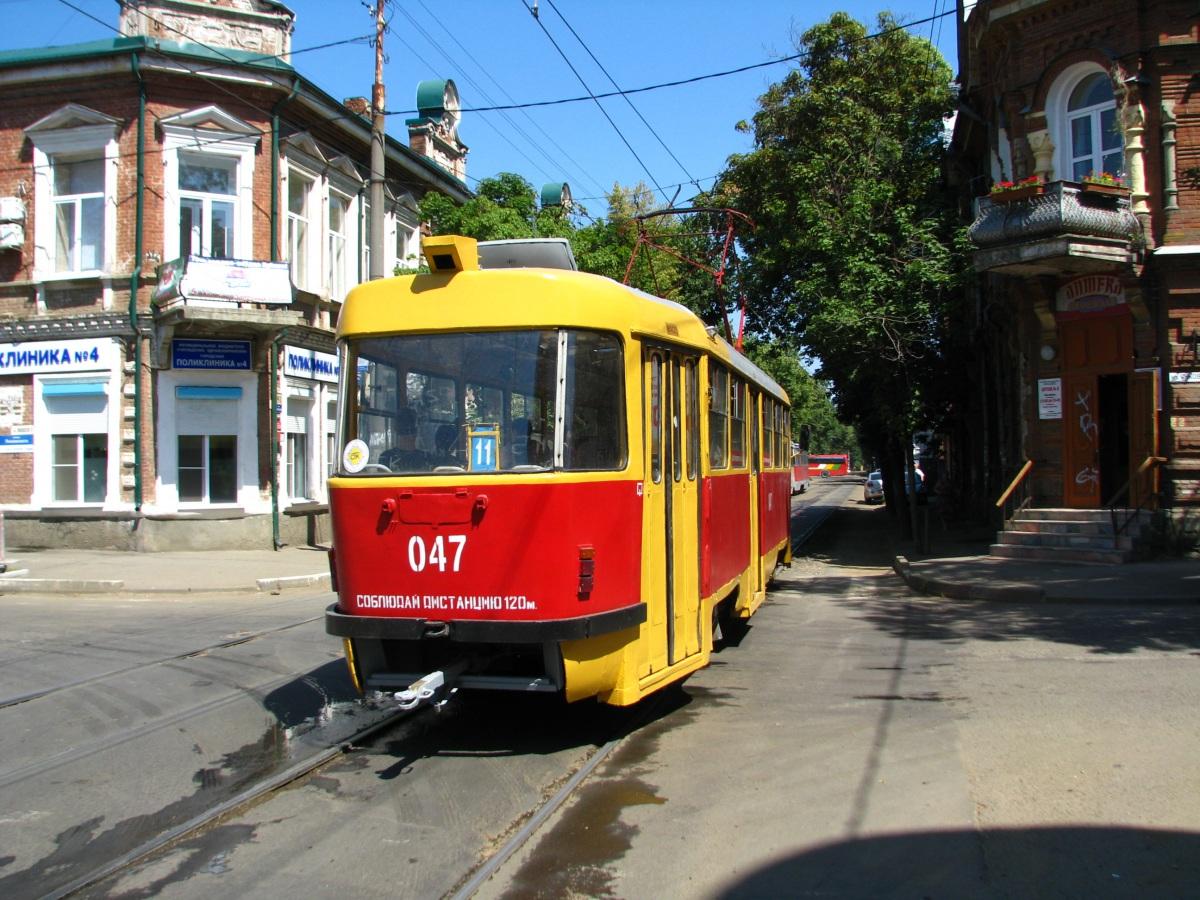 Краснодар. Tatra T3SU №047