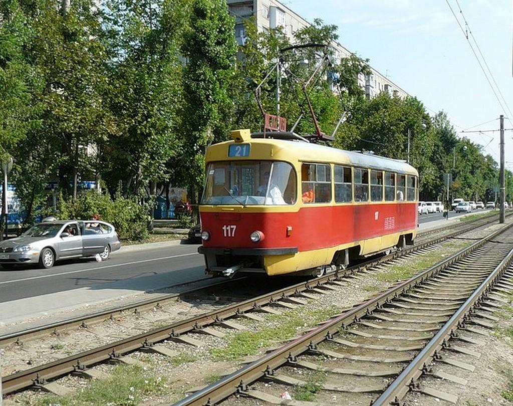 Краснодар. Tatra T3SU №117