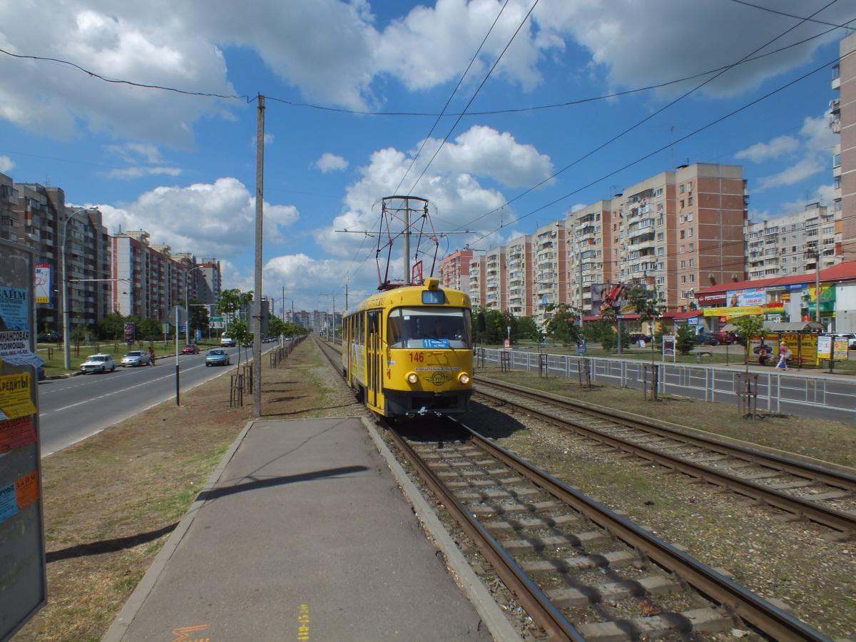 Краснодар. Tatra T3SU №146