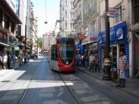 Стамбул. Alstom Citadis 301 №827