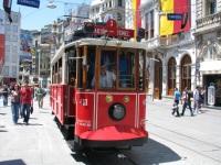 Стамбул. Двухосный моторный вагон №410
