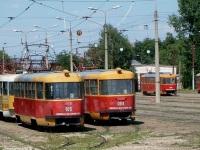 Краснодар. Tatra T3SU №084, Tatra T3SU №013, Tatra T3SU №105