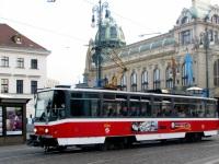 Прага. Tatra T6A5 №8744
