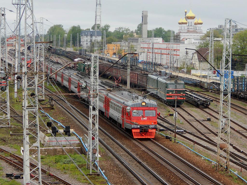 Тверь. ЭТ2М-057, ВЛ10-1434