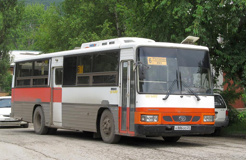 Партизанск. Daewoo BS106 к886оо
