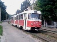 Запорожье. Tatra T3SU №773