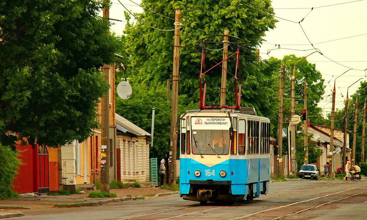 Житомир. Tatra KT4SU №164