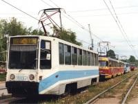 Уфа. 71-608К (КТМ-8) №2037, Tatra T3SU №3040, Tatra T3SU №3042