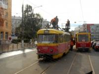 Тверь. Tatra T3SU №309, Tatra T6B5 (Tatra T3M) №6