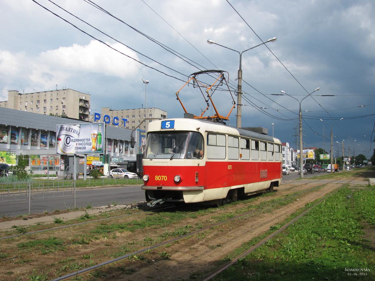 Харьков. Tatra T3M №8070