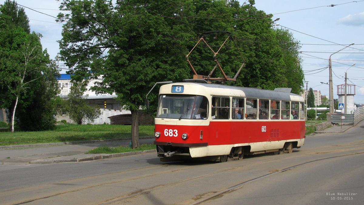Харьков. Tatra T3SUCS №683