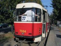 Прага. Tatra T3SUCS №7084