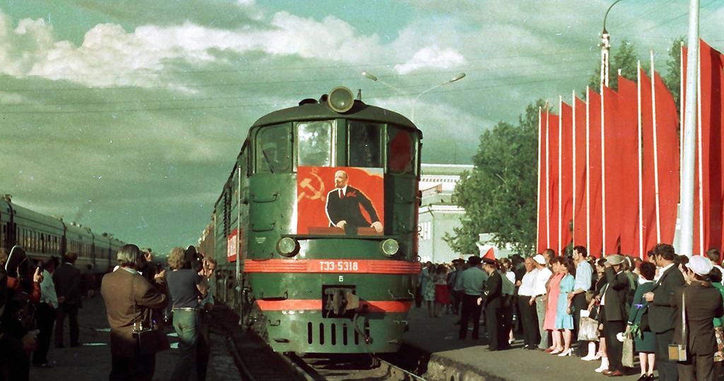 Комсомольск-на-Амуре. ТЭ3-5318