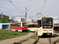 Саратов. 71-619КТ (КТМ-19КТ) №1015, 71-605 (КТМ-5) №1174