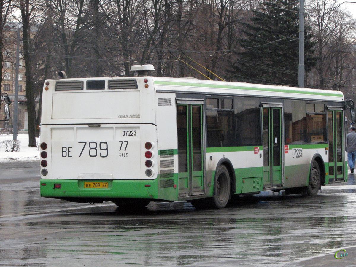 Москва. ЛиАЗ-5292.00 ве789