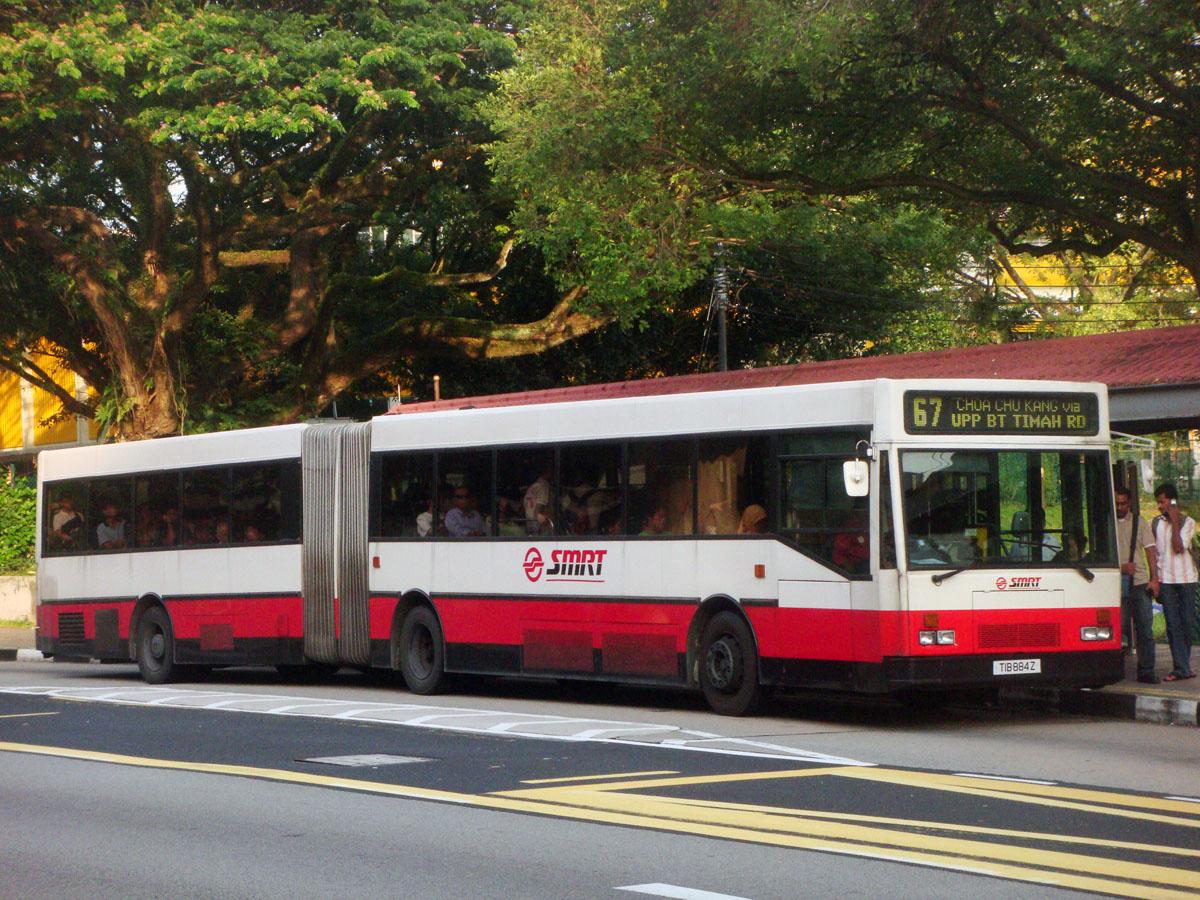 Сингапур. Hispano (Mercedes-Benz O405G) TIB884Z