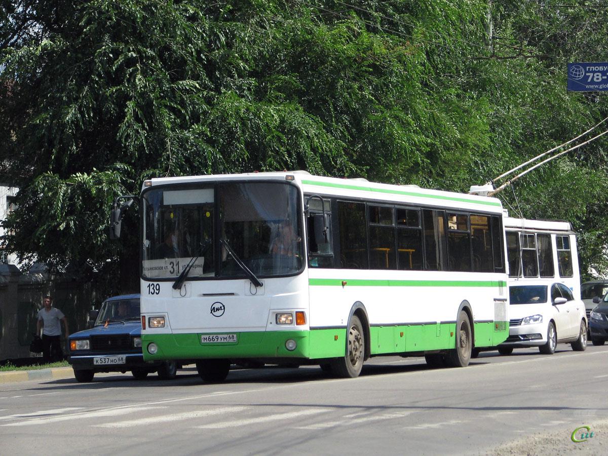 Тамбов. ЛиАЗ-5256.36 м669ум