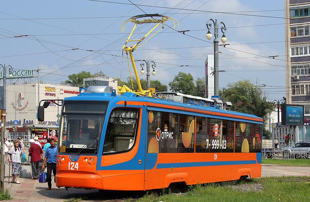 Хабаровск. 71-623-02 (КТМ-23) №124