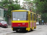 Ростов-на-Дону. Tatra T6B5 (Tatra T3M) №837
