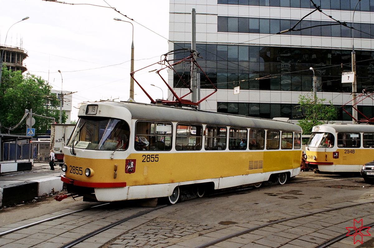 Москва. Tatra T3SU №2855, Tatra T3SU №2948