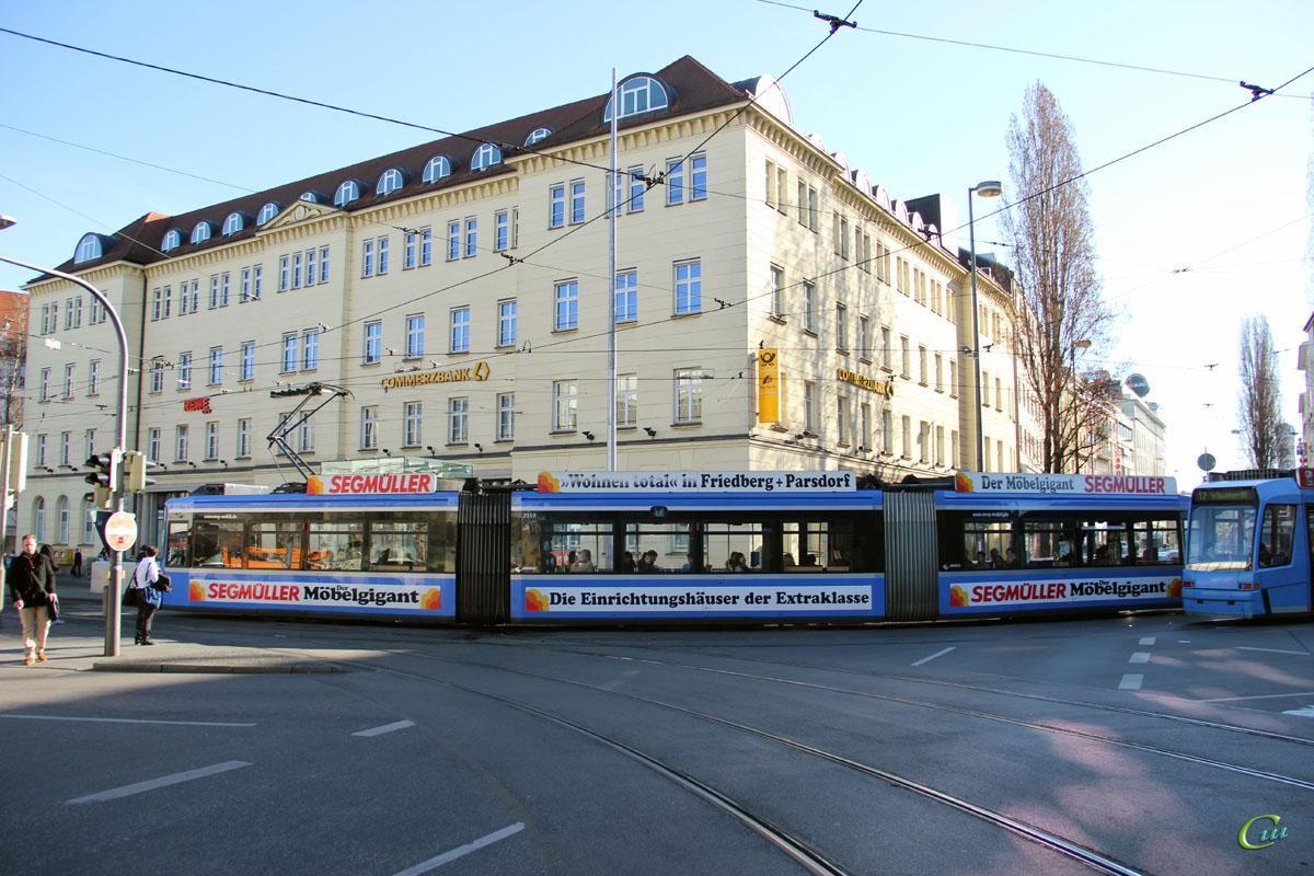 Мюнхен. Adtranz R2.2 №2159