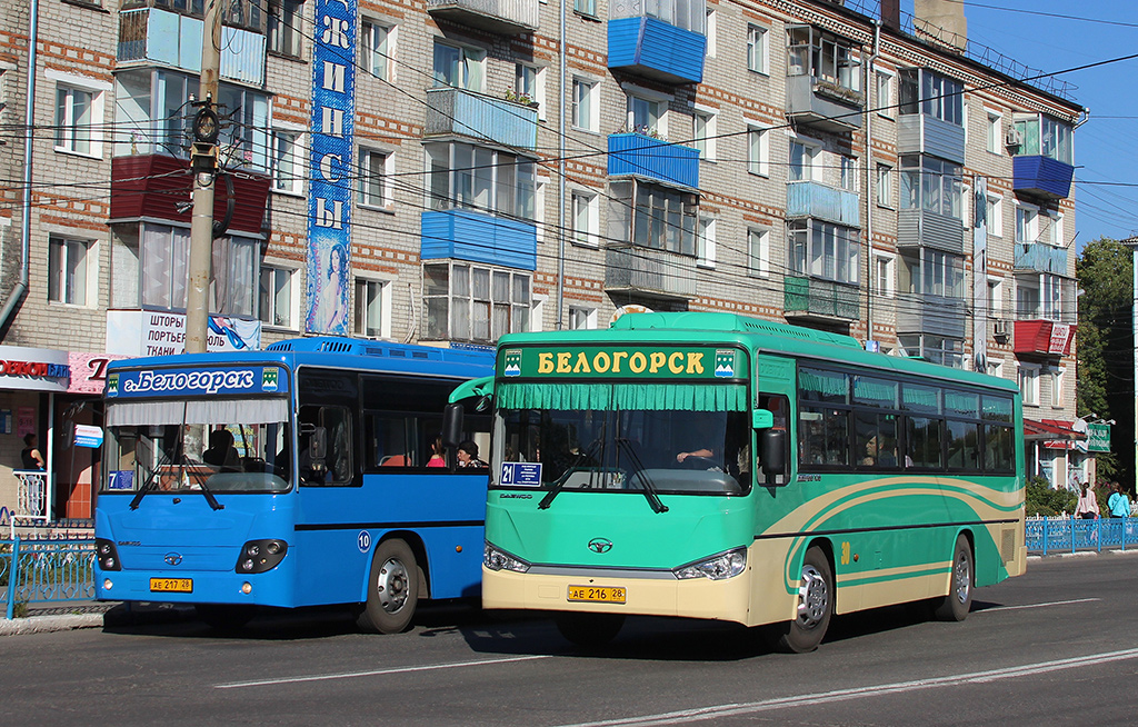 Белогорск. Daewoo BS106 ае216, Daewoo BS106 ае217