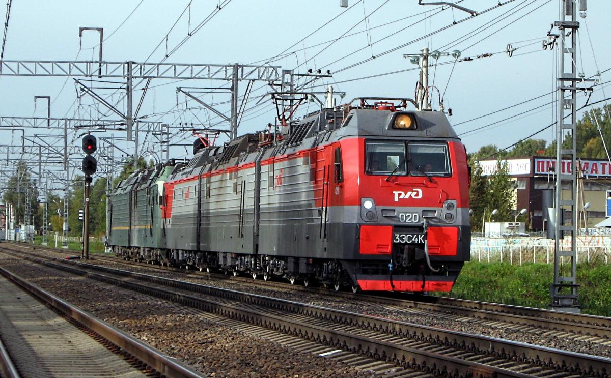 Санкт-Петербург. 3ЭС4К Дончак-020, 2ЭС4К Дончак-011