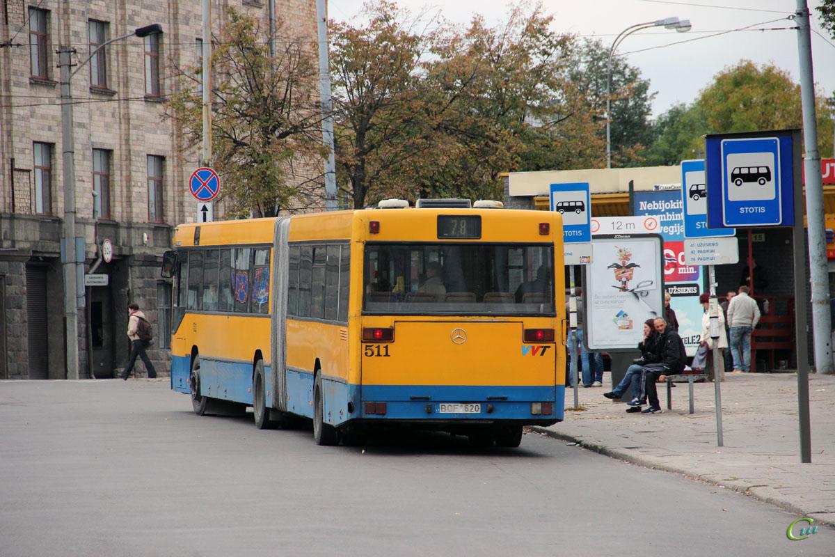Вильнюс. Mercedes-Benz O405GN BOF 620