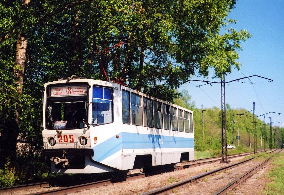 Кемерово. 71-608КМ (КТМ-8М) №205