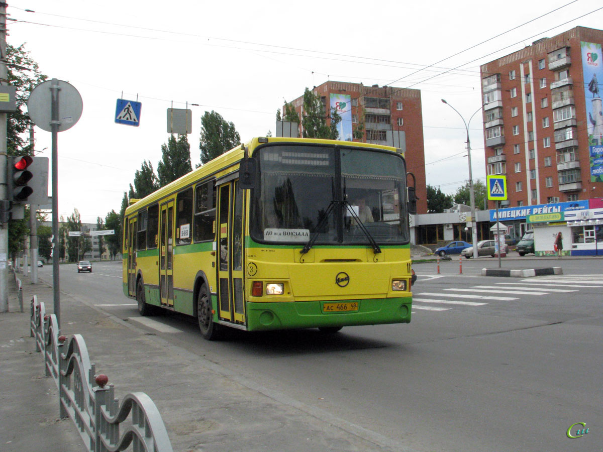 Липецк. ЛиАЗ-5293.00 ас466