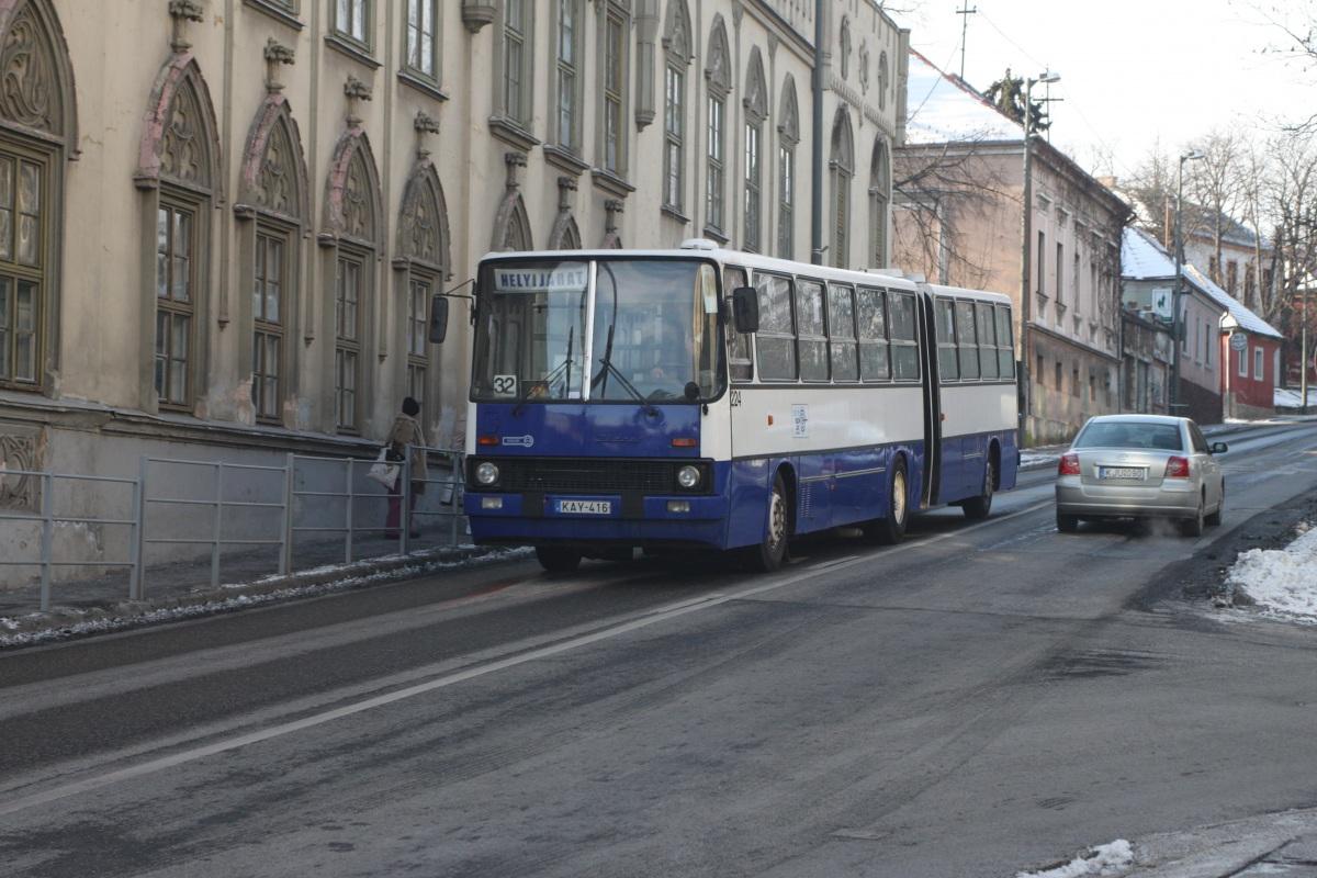 Веспрем. Ikarus 280.06 KAY-416