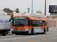 Лос-Анджелес. New Flyer XN40 1453735