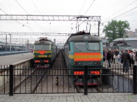 Москва. ЧС7-080, ЧС7-233