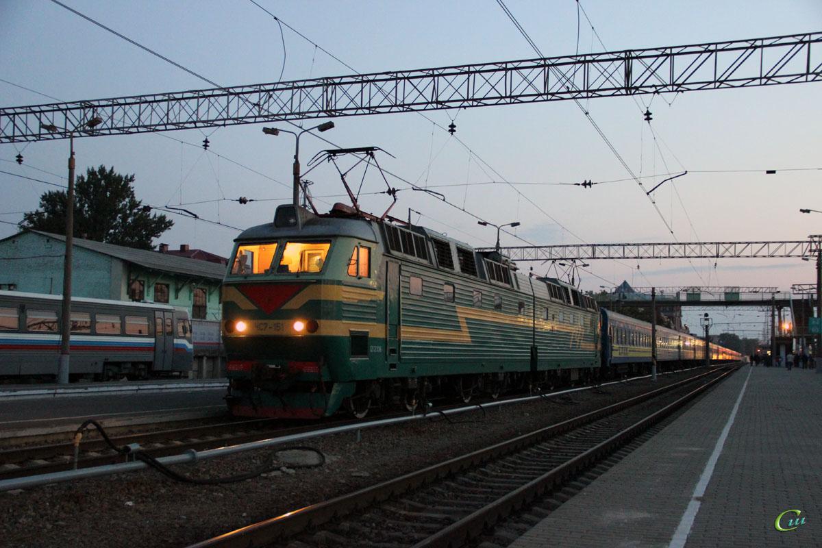 Курск. ЧС7-151