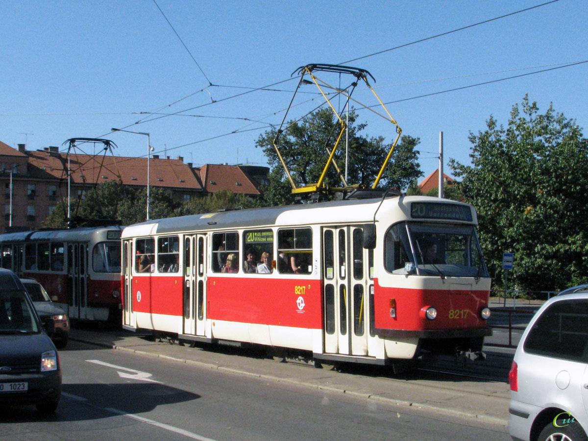 Прага. Tatra T3R.P №8217