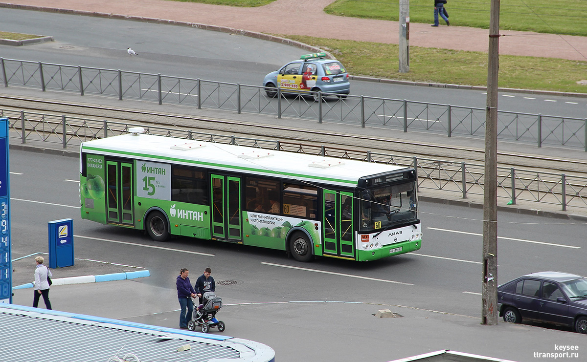 Санкт-Петербург. ЛиАЗ-5292.21 в711тв