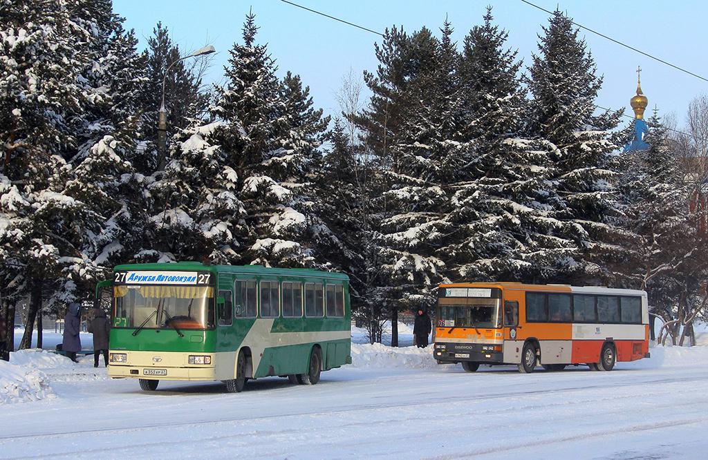 Комсомольск-на-Амуре. Daewoo BS106 а353хр, Daewoo BS106 к942аа