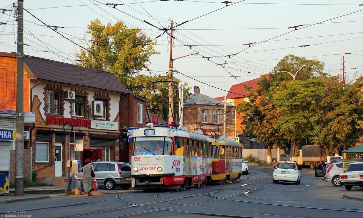 Краснодар. Tatra T3SU №096