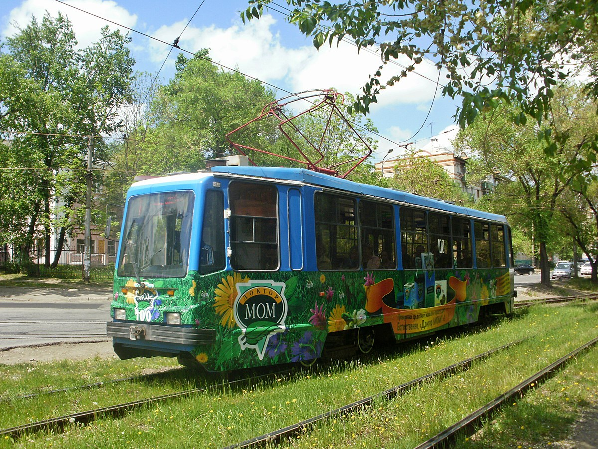 Хабаровск. 71-134К (ЛМ-99К) №100