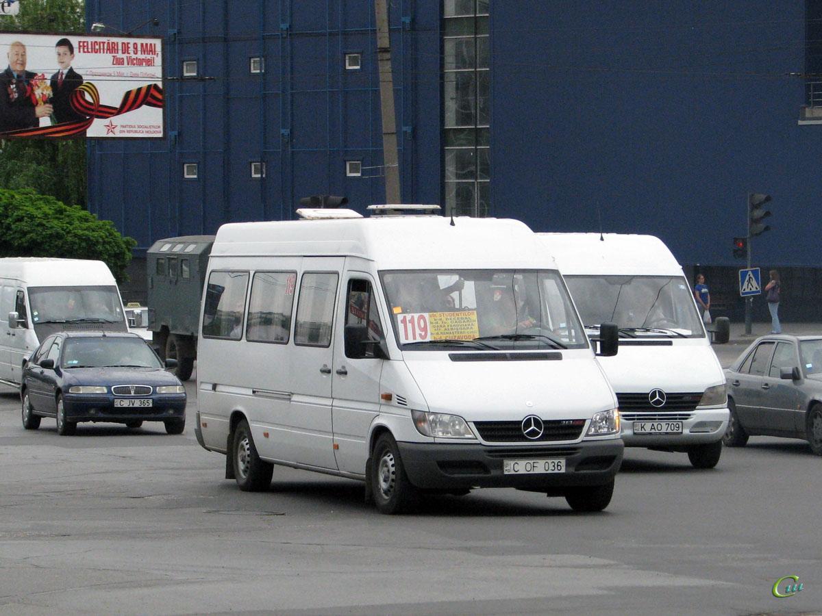 Кишинев. Mercedes-Benz Sprinter C OF 036