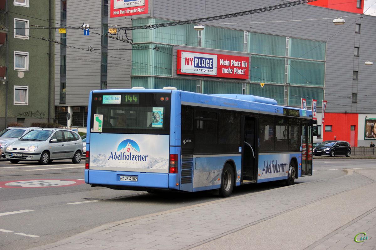Мюнхен. MAN A21 NL263 M-VB 4107