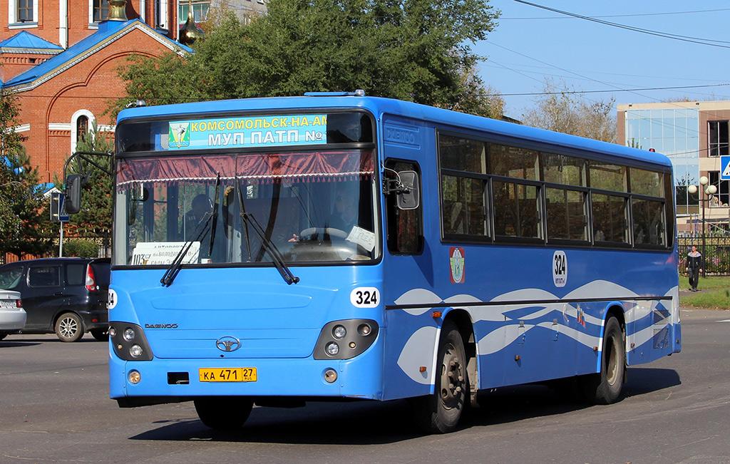 Комсомольск-на-Амуре. Daewoo BS106 ка471