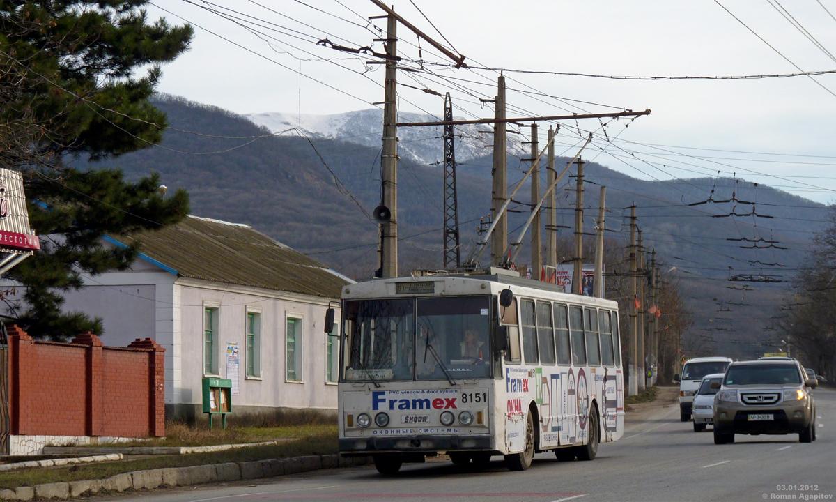 Крым. Škoda 14Tr11/6 №8151