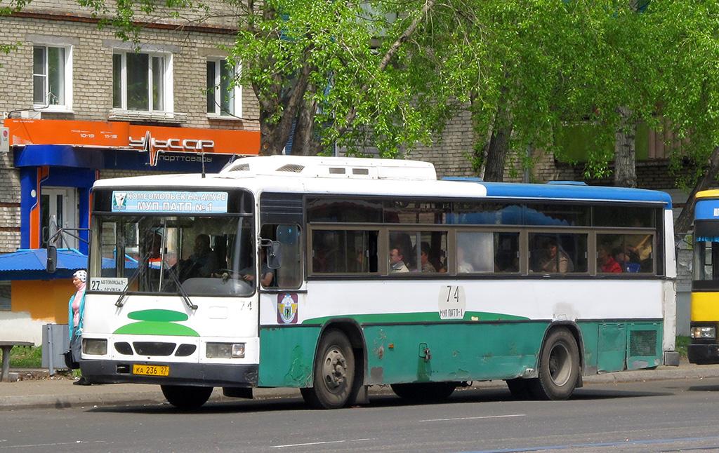 Комсомольск-на-Амуре. Daewoo BS106 ка236