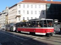 Прага. Tatra T6A5 №8673, Tatra T6A5 №8674