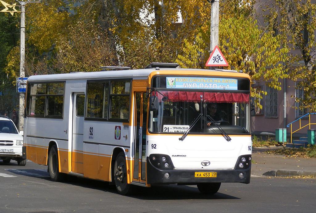 Комсомольск-на-Амуре. Daewoo BS106 ка453