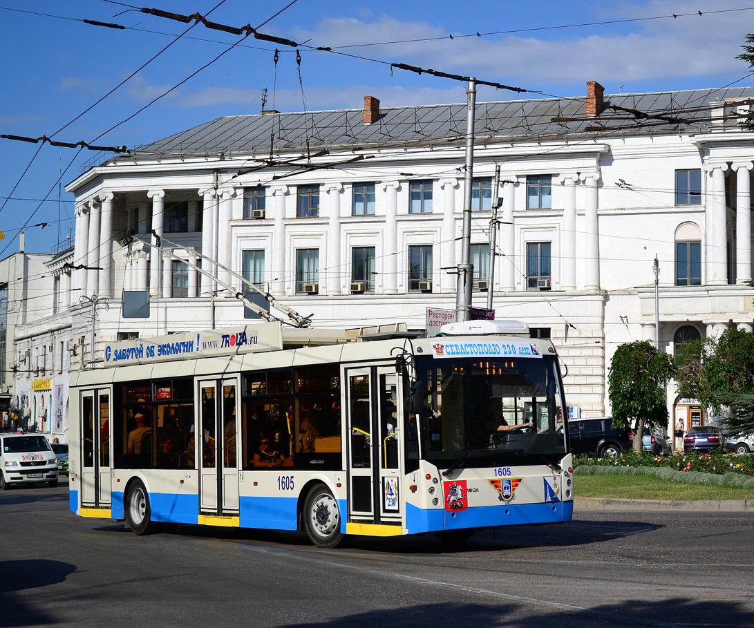 Севастополь. ТролЗа-5265.00 Мегаполис №1605